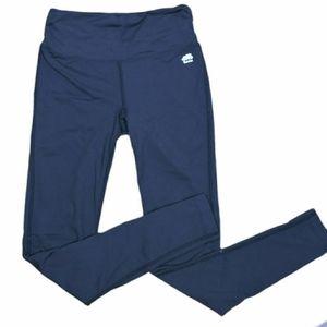 Roots workout black legging pants size XXSmall
